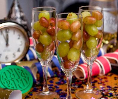 Uvas de la suerte año nuevo 2018